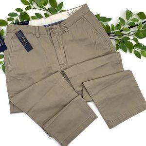🆕POLO RALPH LAUREN Tan Classic Fit Chino Pants